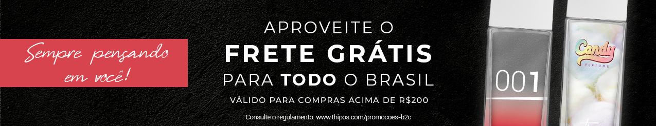 Frete Grátis 200 - Brasil todo